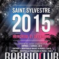 Venez nombreux fêter la dernière soiree 2014 au Barrioclub !